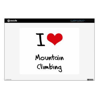 I love Mountain Climbing Skin For Laptop