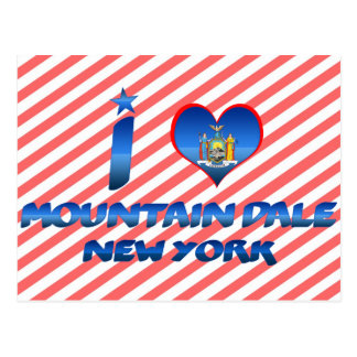 I love Mountain Dale, New York Postcard