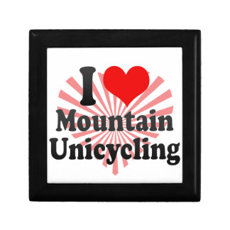 I love Mountain Unicycling Jewelry Boxes