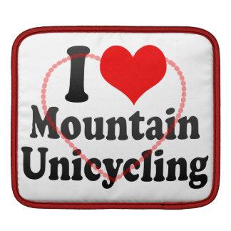I love Mountain Unicycling iPad Sleeves