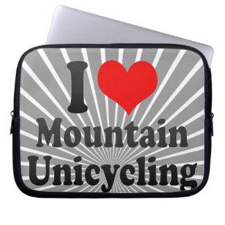 I love Mountain Unicycling Computer Sleeve