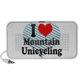 I love Mountain Unicycling Portable Speakers