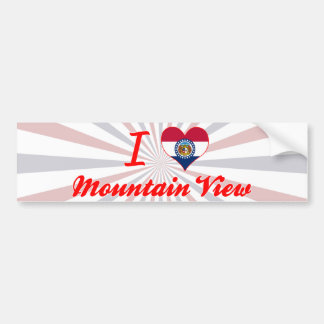 I Love Mountain View, Missouri Bumper Sticker