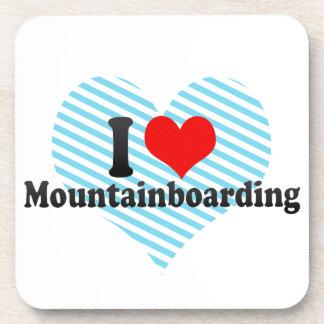 I love Mountainboarding Drink Coaster
