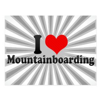 I love Mountainboarding Postcard