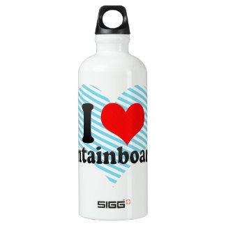 I love Mountainboarding Water Bottle