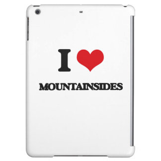 I Love Mountainsides Case For iPad Air