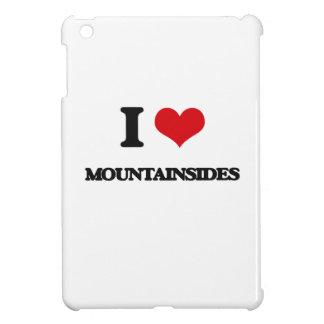 I Love Mountainsides iPad Mini Cover