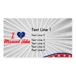 I Love MountIda, Wisconsin Double-Sided Standard Business Cards (Pack Of 100)