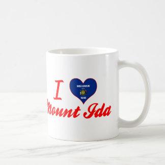 I Love MountIda, Wisconsin Coffee Mugs