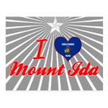 I Love MountIda, Wisconsin Postcard