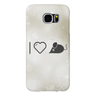 I Love Mouse Samsung Galaxy S6 Cases