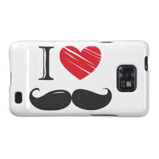 I Love MOUSTACHE Nr 1 Galaxy SII Case