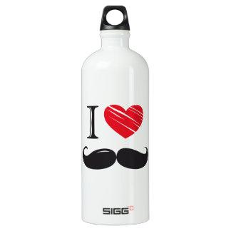I Love MOUSTACHE Nr 1 SIGG Traveler 1.0L Water Bottle