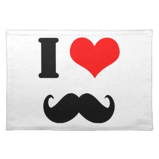 I love moustache place mat