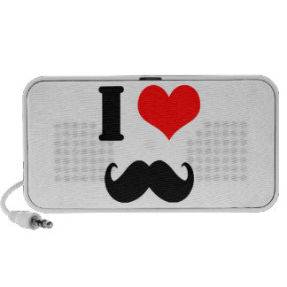 I love moustache mini speakers