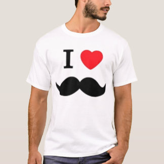 I love moustaches T-Shirt