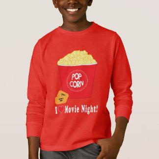 I Love Movie Night T-Shirt