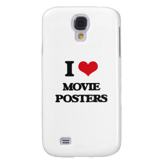 I Love Movie Posters Samsung Galaxy S4 Case