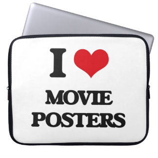 I Love Movie Posters Laptop Computer Sleeves