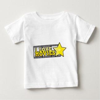 I love movies baby T-Shirt