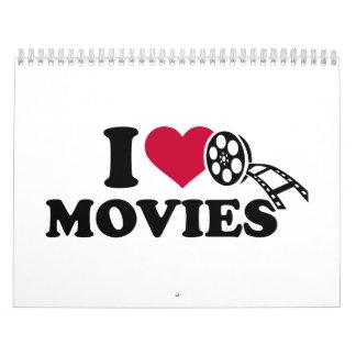 I love Movies Calendar
