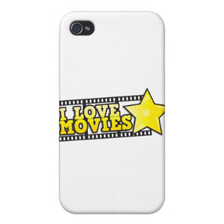 I love movies cases for iPhone 4