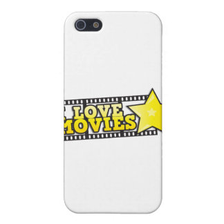 I love movies cover for iPhone SE/5/5s