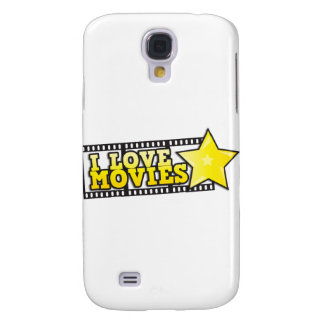 I love movies galaxy s4 cover