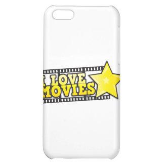 I love movies iPhone 5C cases