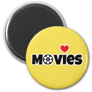 I love Movies Magnet