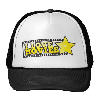 I love movies mesh hats