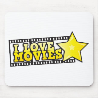 I love movies mouse pad