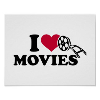 I love Movies Poster