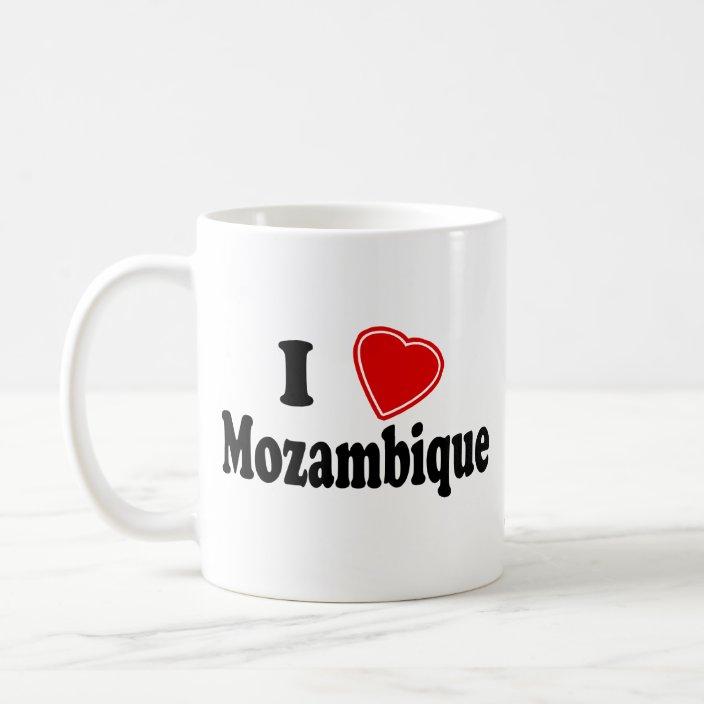 I Love Mozambique Coffee Mug