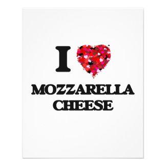 "I love Mozzarella Cheese 4.5"" X 5.6"" Flyer"