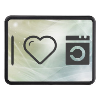 I Love Mp3 Player Tow Hitch Cover
