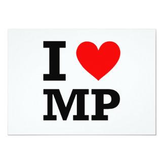 I Love MP Design Card