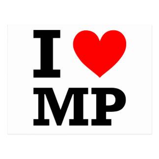 I Love MP Design Postcard