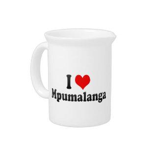 I Love Mpumalanga, South Africa Pitcher