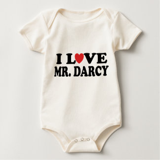 I Love Mr. Darcy Baby Bodysuit