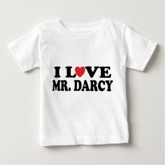 I Love Mr. Darcy Baby T-Shirt