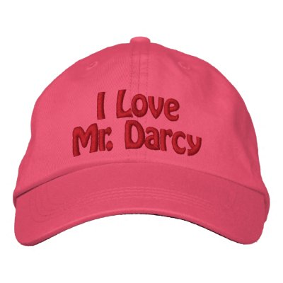 I Love Mr. Darcy Hat Embroidered Baseball Caps