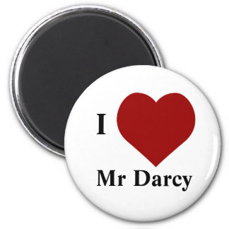 I love Mr Darcy Magnet