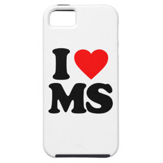 I LOVE MS iPhone 5 COVERS
