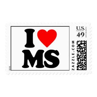 I LOVE MS POSTAGE