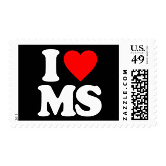I LOVE MS STAMPS
