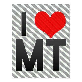 I Love MT Card