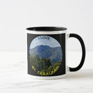 I Love Mt. Tam Mug (Black)