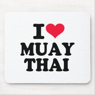 I love Muay Thai Mouse Pad